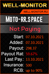 Well-Monitor.ru widget for Moto-rr.space